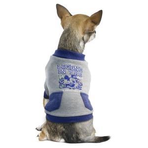 Толстовка для собак Triol Mickey College L L, размер 35см., серый