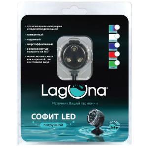 Софит погружной для аквариума Laguna 101LEDB, размер 3.5х3.5х3.5см., голубой