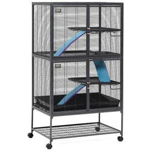Клетка для грызунов Midwest, размер 92х61х160см., черный