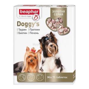 Витамины для собак Beaphar Doggy's MIX, 75 таб.