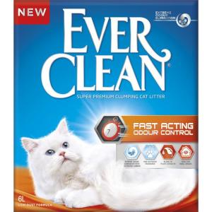 Наполнитель для кошачьего туалета Ever Clean Fast Acting , 6 кг