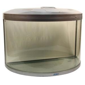 Аквариум для рыб Jebo 790R, 169 л, размер 90.5х45х65.5см., серебро