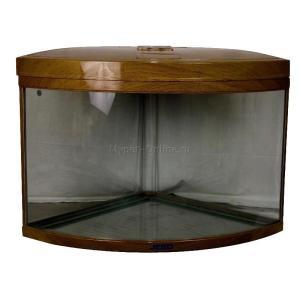 Аквариум для рыб Jebo 470R, 186 л, размер 65х65х70см., темное дерево