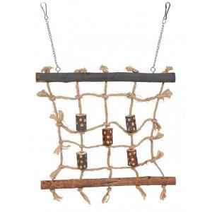 Игрушка для птиц Trixie Rope Climbing Wall, размер 27х24см.