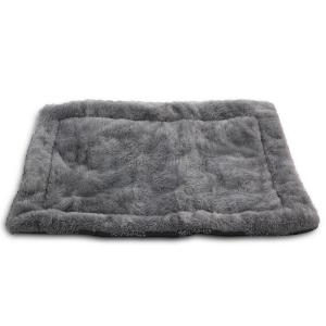 Лежак для собак Triol Сказочный лес S, размер 70х47см., серый