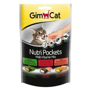 Лакомство для кошек GimCat Nutri Pockets Malt-Vitamin Mix, 150 г