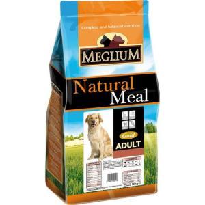 Корм для собак MEGLIUM Dog Adult Gold, 3 кг, говядина с курицей