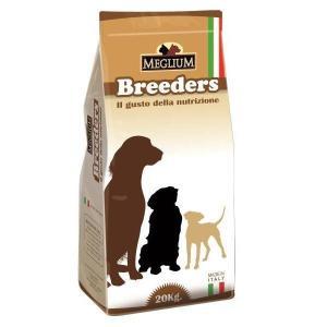 Корм для щенков MEGLIUM Dog Puppy Breeders, 20 кг, курица с говядиной