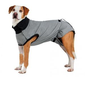 Попона для собак Trixie Protective Body M, размер 40см., серый