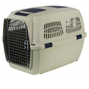 Переноска для собак Marchioro Clipper Tortuga, размер 7, размер 105х75х79см., бежево-синий