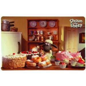 Коврик под миску Trixie Shaun the sheep, размер 44х28см.