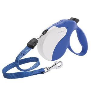 Поводок-рулетка для собак Ferplast Amigo Small, сине-белый