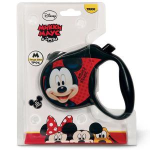 Поводок-рулетка для собак Triol Disney Mickey M, размер 15х2.8х11.5см.