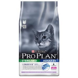 Корм для кошек Pro Plan Sterilised Adult 7+, 1.5 кг, индейка