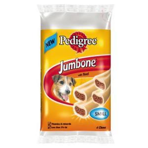 Лакомство для собак Pedigree Jumbone Mini, 180 г, говядина