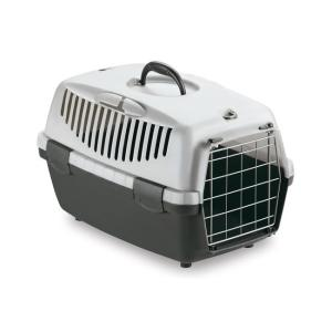 Переноска для собак и кошек Stefanplast Gulliver, размер 1, размер 48х32х31см., серый