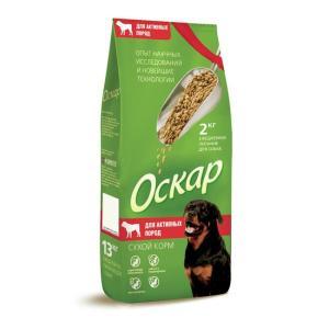 Корм для собак Оскар, 2 кг