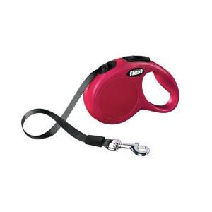 Поводок-рулетка для собак Flexi New Classic XS, красный