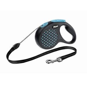 Поводок-рулетка для собак Flexi Design Classic, синий