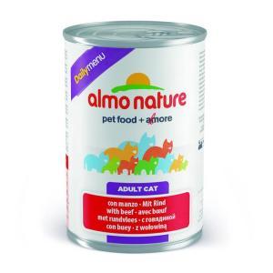 Консервы для кошек Almo Nature Dailymenu BIO, 400 г, говядина