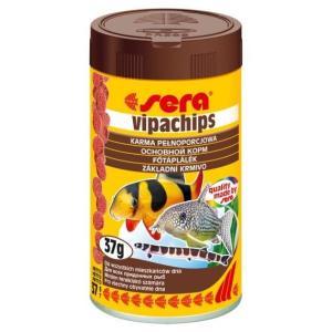 Корм для донных рыб и ракообразных Sera Vipachips, 37 г, 100 мл