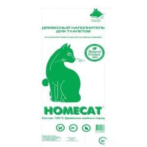 Наполнитель для кошачьего туалета Homecat, 20 кг