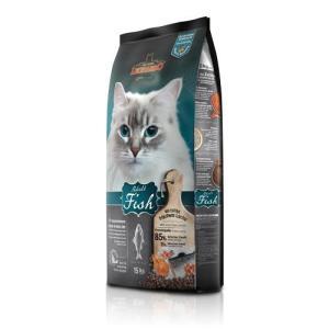 Корм для кошек Leonardo Adult Fish, 15 кг, рыба и рис