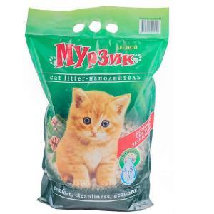 Наполнитель для кошачьего туалета Мурзик, 2.5 кг, 4 л