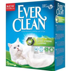 Наполнитель для кошачьего туалета Ever Clean Extra Strоng Clumping Scented, 6 кг