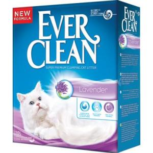 Наполнитель для кошачьего туалета Ever Clean Lavender, 10 кг