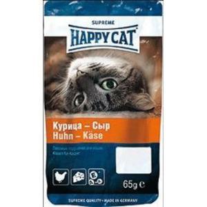Лакомство для кошек Happy Cat, 50 г, курица и сыр