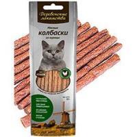 Фотография товара Лакомство для кошек Деревенские лакомства, 50 г, куриные колбаски