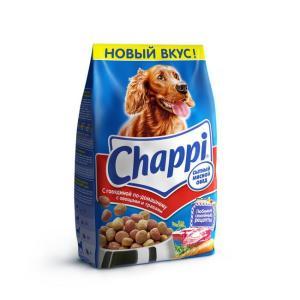 Корм для собак Chappi Сытный мясной обед, 2.5 кг, говядина
