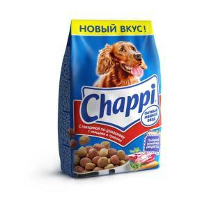 Корм для собак Chappi Сытный мясной обед, 600 г, говядина