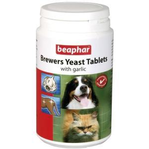 Витамины для собак Beaphar, Пивные дрожжи с чесноком