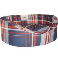 Фотография товара Лежак для собак Бобровый дворик, размер 9, размер 105х69х24см., цвета в ассортименте