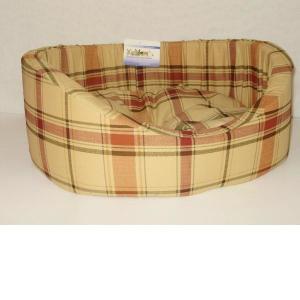 Лежак для собак Бобровый дворик, размер 4, размер 64х49х20см., цвета в ассортименте