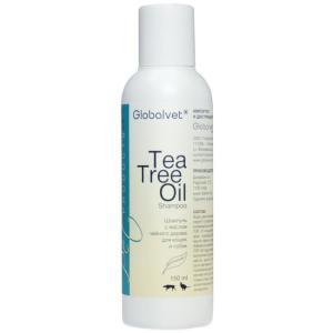 Шампунь для собак и кошек Globalvet Tea Tree Oil Shampoo, 150 мл, масло чайного дерева