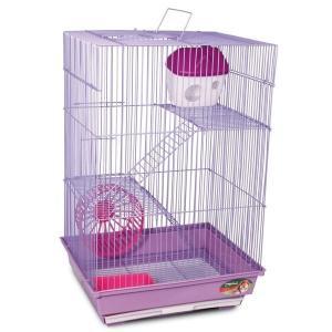 Клетка для грызунов Triol, размер 34х28х53см., цвета в ассортименте
