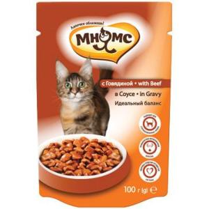 Корм для кошек Мнямс, 100 г, говядина