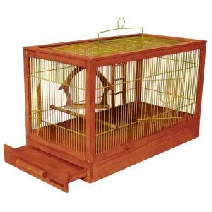 Клетка для птиц Дарэлл Ретро - Кантри, 3 кг, размер 71х33.5х51см., клен