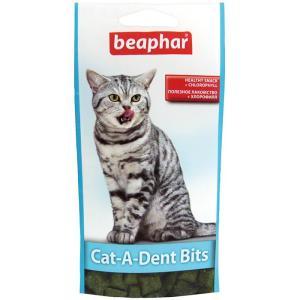 Подушечки для кошек для чистки зубов Beaphar Cat-A-Dent-Bits