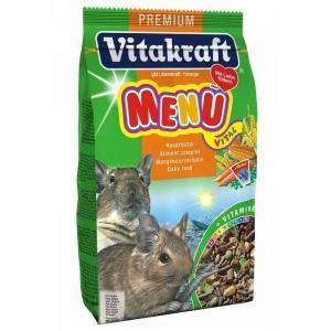 Корм для дегусов Vitakraft Menu Vital Basic, 600 г, злаки, овощи, фрукты