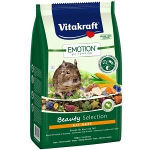Корм для дегу Vitakraft Beauty Selection, 600 г, злаки, овощи, семена