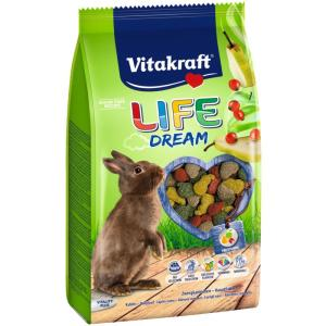 Корм для кроликов Vitakraft Life Dream, 600 г