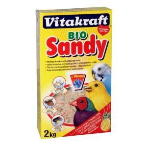 Биопесок для птиц Vitakraft Bio Sandy, 2 кг