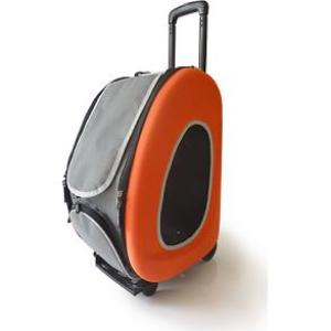 Cумка-тележка для собак Ibiyaya PTY, размер 58х30х34см., оранжевый