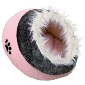 Домик для собак и кошек Trixie Minou, размер 41х35х26см., розовый/серый