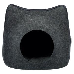 Лежак для собак и кошек Trixie Cat, размер 38×35×37см., антрацит