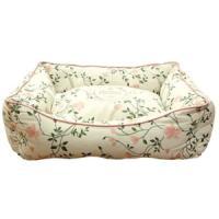 Фотография товара Лежак для собак Fauna International Infinity Pink M, 1.38 кг, размер 60х50х21.5см.